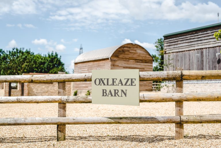 Ox Barn sign